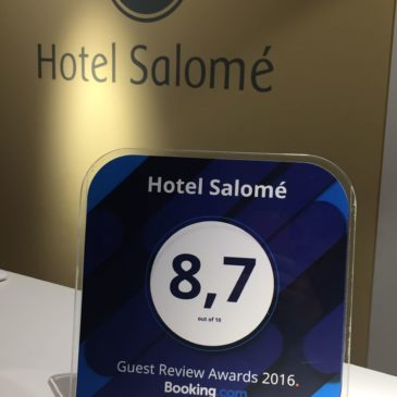 8,7 Guest Review Awards 2016 Booking.com
