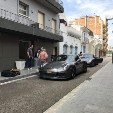 Nederlandse Porsche Club ontvangen